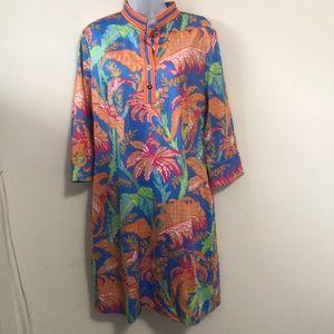 NWT Gretchen Scott Mandarin Dress SZ L